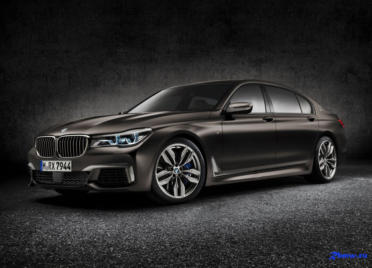 Баварский BMW в честь юбилея готовит BMW 7 Series Centennial Limited Edition